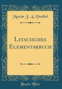 Litauisches Elementarbuch  [GER]