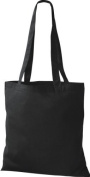 Shirt in Style Premium Fabric Bag Cotton Bags Tote Bag Shoulder Bag Shopping Bag, Colour Black