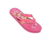 Paw Patrol Fuchsia Girl Flip Flops Size 25/26