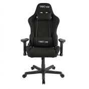Techni Sport TS-44 Fabric Ergonomic, High Back, Racer Style, Video Gaming Chair. Colour Black