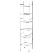 Mainstays 6-Tier Shelf Tower, Chrome