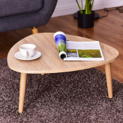Casart Triangle Top Coffee Table Sofa Side End Accent Table Living Room Furniture