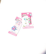 Shopkins Lip Balm & Stickers with Set of Press on Nails