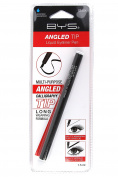 BYS Angled Tip Liquid Eyeliner Pen - Waterproof & Smudgeproof - Black