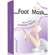 Foot Peel Mask-2 Pairs Foot Peeling Mask, Exfoliating Calluses and Dead Skin Remover- Exfoliating Sock Foot Mask,Get best foot in 1-2 Weeks