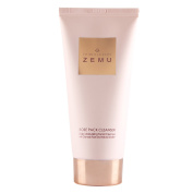 ZEMU Rose Pack Facial Cleansing Foam 120ml, Made with New Zealand Zeolite Mud, Anti Irritation Pack Mask Wash for Sensitive Skin Acne Care Deep Blackhead Removing Hydrating Daily Korean Face Wash