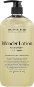 Majestic Pure Wonder Face and Full Body Lotion, Daily Face Moisturiser, Nourishing and Calming Skin Lotion, 91% Organic Formula, 270ml