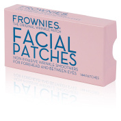 Frownies Wrinkle Treatment Patch to Smooth Deep Wrinkles and Fine Lines on the Forehead & Between the Eyes The Original Wrinkle Patch (144 patches NEW PINK BOX) Buy Direct