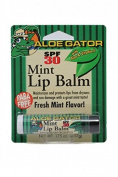 Aloe Gator SPF 30 Lip Balm Mint Blister Carded