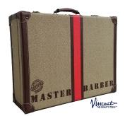 Vincent Nostalgic Master Case Travel Stylist Barber Case, Desert