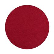Plant Pot Saucer Round Diameter 15 cm Placemat Colour Bordeaux Red 100% Merino Wool Felt 5 mm