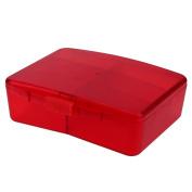 Domybest 6 Slots Pill Cases Organiser Jewellery Candy Storage Box Vitamin Medicine Reminder