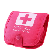 Domybest Portable One Week Medicine Storage Boxes Plastic Carry Organiser with Bag