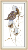 CaptainCrafts Hot DIY New Releases Cross Stitch Kits Patterns Embroidery Kit - A Bird In The Snow