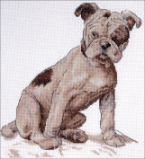 """Creative World Of Crafts """"Henry"""" Cecil Aldin Mans Best Friend Counted Cross Stitch Kits, Multi-Colour"""