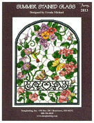 Summer Stained Glass Chart Leaflet