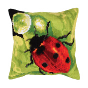 A Dew Drop Cushion Front Chunky Cross Stitch Kit