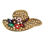 Cosanter Fashion Brooches & Pins Sun Hat Shped Brooch Jewellery Casual Clothes Accessories