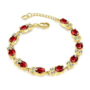 Yiwa Women Fashion Simple Shimmer Bracelet Concise Exquisite Hand Chain