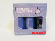 Matrix neutralise YELLOW TONES on Blondes KIT 2 Colour Obsessed So SIlver Shampoo and 1 Colour Obsessed Conditioner 50ml