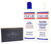 Folicure Extra Shampoo and Conditioner 350ml Bundle