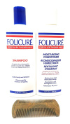 Folicure Shampoo and Conditioner 350ml Bundle