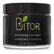 BRITOR Teeth Whitening Charcoal Powder Natural – 60ml