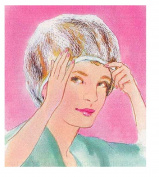 Trenton Gifts Hairdo Protector | Sleep Night Cap | Head Cover Bonnet for Hair Beauty