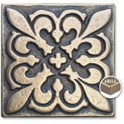 Arizona Hot Dots Inc. Decorative Metal Accent Tiles, 5.1cm x 5.1cm Square Dots