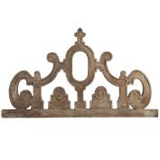 Benzara BM165483 Brown Artistic Decorative Wall Carving