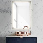 500 x 700 mm Illuminated LED Light Bathroom Mirror With Sensor Switch, Demister Pad,Vertical & Horizontal
