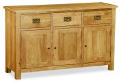 Baysdale Rustic Oak Large Sideboard