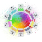 Holi Colour Powders, 10 Natural Pigments for Festivals, Soap Making, Gender Reveal and Colour Runs