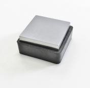 Steel Bench Block W/ Rubber Base 6.4cm x 2.5cm Anvil & Rubber Jewellery Forming Tool