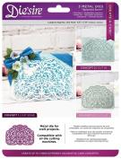 Die'sire Create a Card Metal 3-in-1 Paper Craft Cutting Die - Splendid Swirls