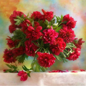 ESHOO 5D DIY Diamond Painting Floral Diamond Embroidery Paintings Pictures Arts Craft for Home Wall Decor