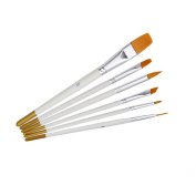 ODN Professional Painting Set 6pcs Acrylic Oil Watercolours Artist Paint Brushes