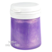 Lilac Metallic Paint Pot 100ml Arts and Crafts Cast Painting Acrylic Water Based