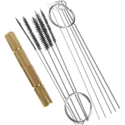 Stainless Steel Cleaner Needle Brushes Kits For Compressor Pipe Airbrush Set
