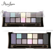IGEMY 12 Colours Cosmetic Powder Smoky Eyeshadow Palette Makeup Set Matt Available