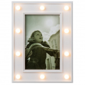 Photo Frame with Warm Lights