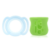 Olababy Teether Handle and Silicone Sleeve for AVENT Natural Glass Bottles