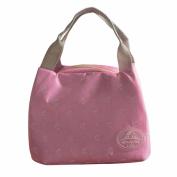 SUKEQ Portable Printed Insulated Picnic Lunch Bag Tote Cooler Zipper Organiser Lunch handbag