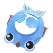 Chen Rui(TM) Baby Kids Children Safe Shampoo Bath Bathing Shower Cap Hat Wash Hair Shield