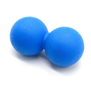 ROSENICE Massage Ball Peanut Double Lacrosse Balls Body Muscle Stress Relief for Myofascial Release Trigger Point Feet Back Neck Deep Tissue Massage