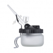 Aibecy TD-888A Airbrush Cleaning Pot Clean Paint Jar Air Brush Holder 304ml