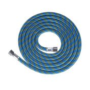Aibecy 1.8m/ 5.9ft Nylon Braided Airbrush Hose with Standard 0.3cm Size Fittings on Both Ends