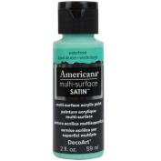 DecoArt Americana Multi Surface Satin Bottle Paint, Acrylic, Waterfront, 3 x 3 x 7 cm
