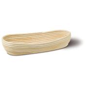 Tube Baking Bowl/Proving Basket Oval Length 36 cm Diameter 16 cm Height 8.5 cm