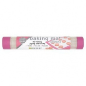 Toastabags Silicone Baking Mat, Pink Trim, 30 x 40cm